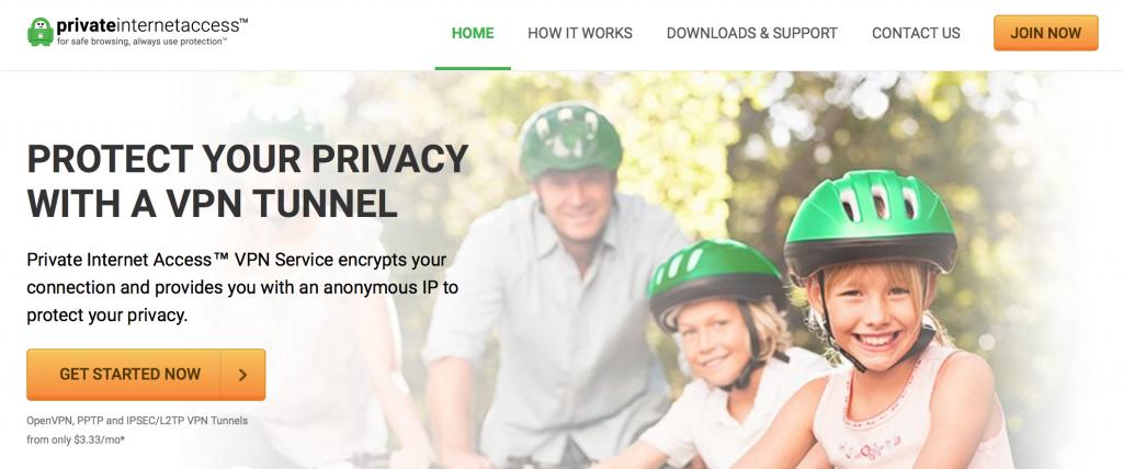 private internet access korea