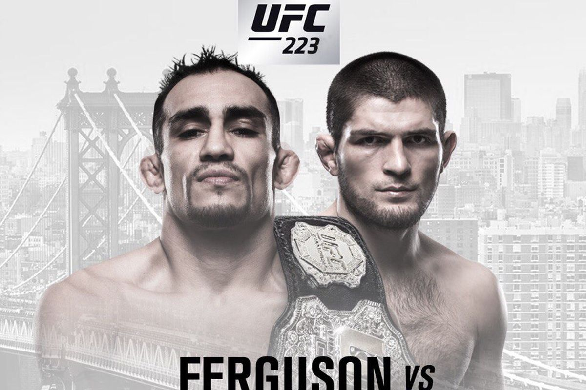 watch ferguson vs khabib